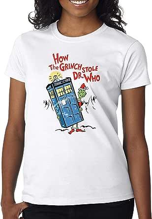 DanielDavis Grinch Stole Dr Who Parody Movie Fan Shirt Custom Made T-Shirt