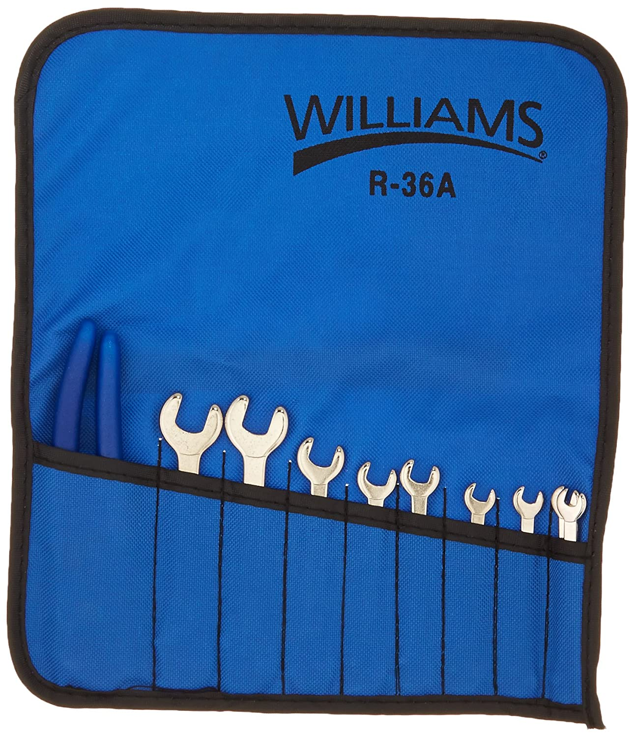 10-Piece Williams MWS-1110 Open End Wrench and Plier Set
