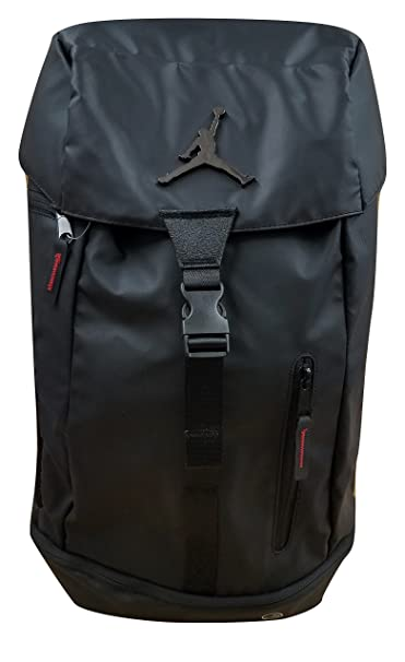 Nike Jordan Multi-Purpose Multi-Pocket Laptop Backpack 9A1876-023 Black  Black Red  Amazon.ca  Clothing   Accessories 16496769dafec