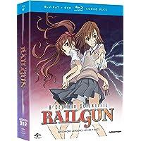 A Certain Scientific Railgun - Complete Season 1 [Blu-Ray + DVD]