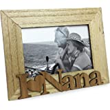 Isaac Jacobs Natural Wood Sentiments Nana Picture Frame, 4x6 inch