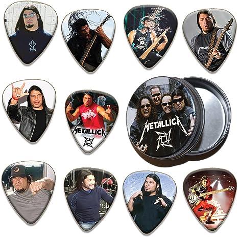 Robert Trujillo Metallica 10 X Guitarra Pick Púa Paras Púa Para ...
