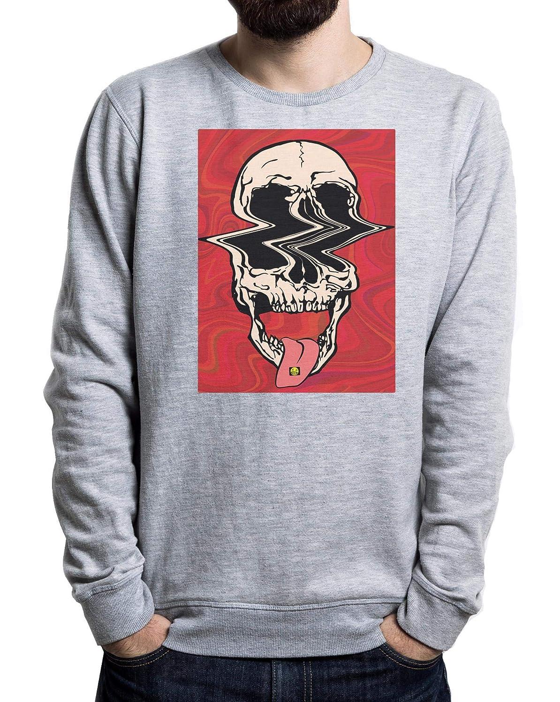 LSD CBD THC Extazy Drugs Mens Sweater Schwarz