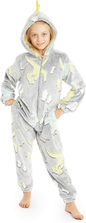 Tutina Pigiama Animali Regali Carini per Bambino Bambina CityComfort Pigiama Intero Onesie Cosplay Costume per Bambini Kigurumi Unicorno Gatto Leone Scimmia Bradipo