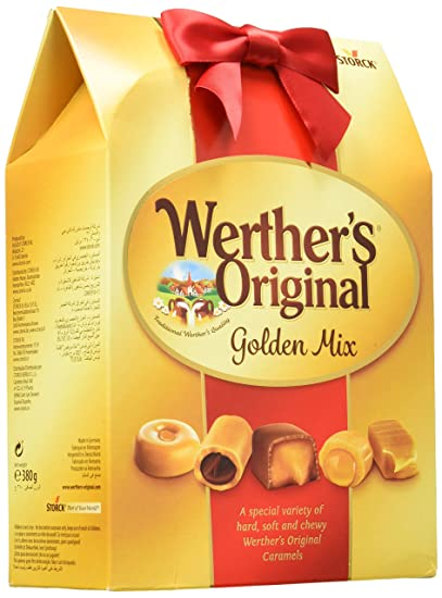 Werthers Original, Caramelo duro - 4 de 380 gr. (Total 1520 gr.)