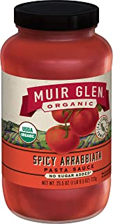 product image for Muir Glen Spicy Arrabbiata Pasta Sauce, 25.5 Ounce