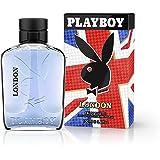 Playboy London Eau De Toilette Spray for Men, 3.4 Ounce