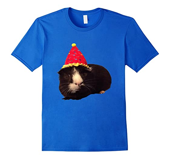amazon com guinea pig in a wizard hat t shirt clothing