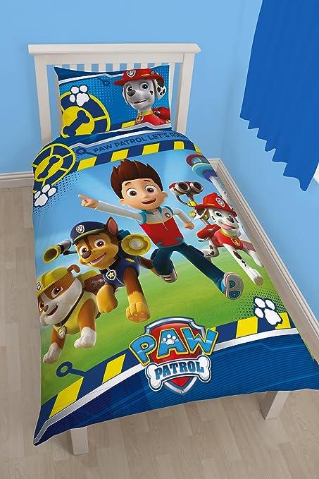 Character World Disney Paw Patrol Rescue - Juego de Ropa de Cama (Individual)