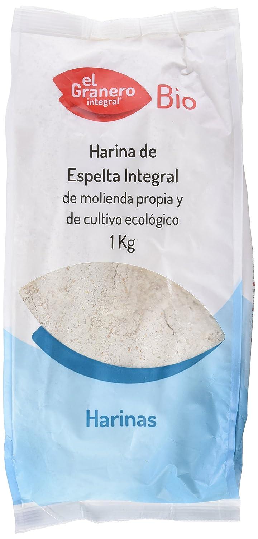 HARINA DE ESPELTA INTEGRAL BIO 1 Kg: Amazon.es: Alimentación y bebidas