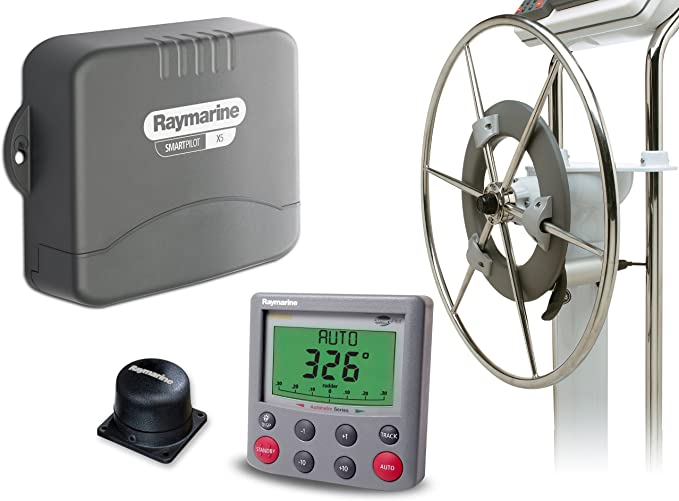 Raymarine SPX 5 wheelpilot c/w ST6002 + Unidad de Control Gris: Amazon.es: Deportes y aire libre
