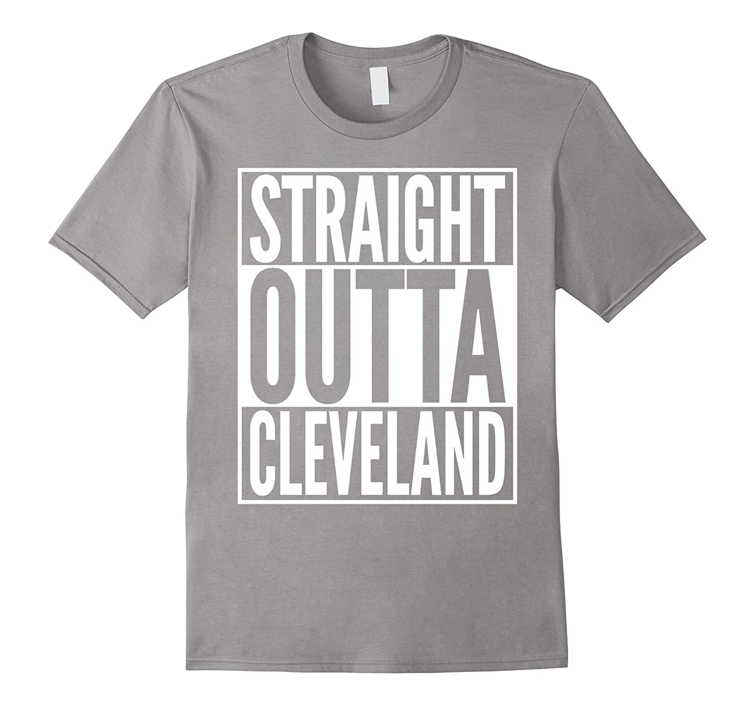 Straight Outta Cleveland T-Shirt-BN
