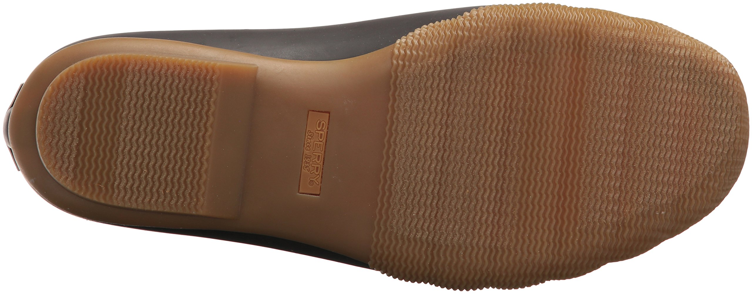Sperry Top-Sider Women's Saltwater Rain Boot, Brown/Olive, 11 Medium US by Sperry Top-Sider (Image #3)