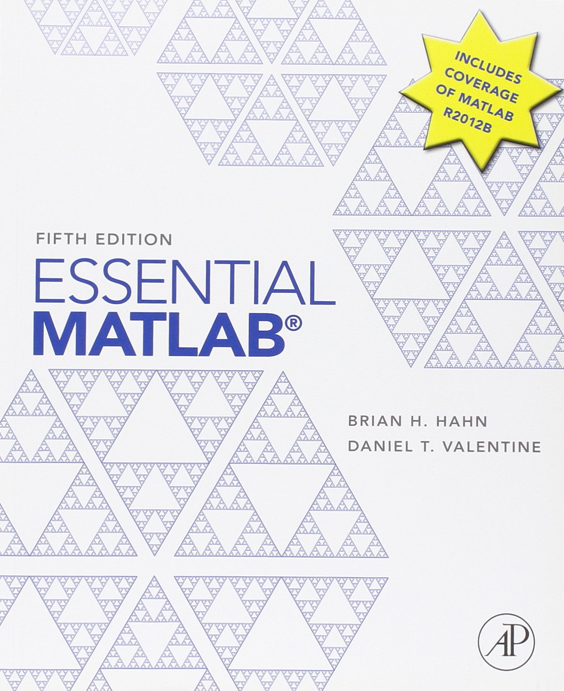 Essential Matlab for Engineers and Scientists ISBN-13 9780123943989