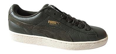 PUMA Basket Classic SFS Schuhe Sneaker Schnürschuhe Grün