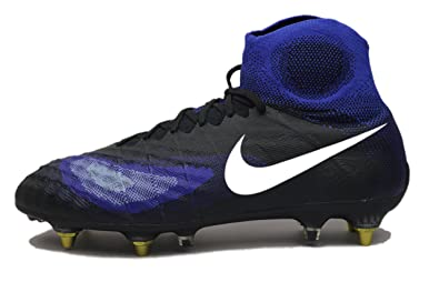 a55c59eb4 Image Unavailable. Image not available for. Color: NIKE Magista OBRA II SG-Pro  AC Anti Clog Soccer Cleats Blue 869482 ...