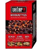 Weber Coconut Shell Charcoal Briquettes, 5kg