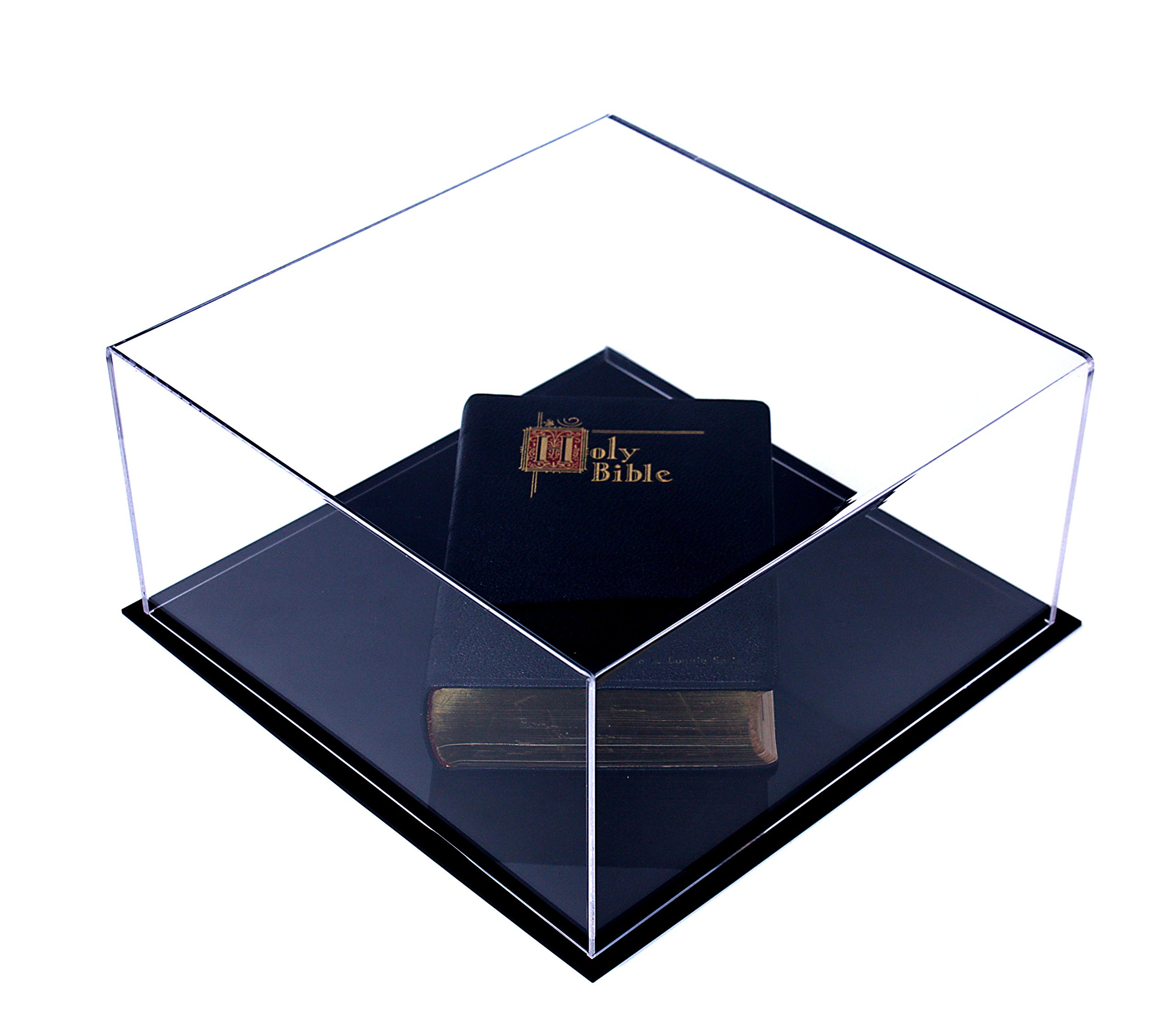 Deluxe Clear Acrylic Book Display Case (A030)