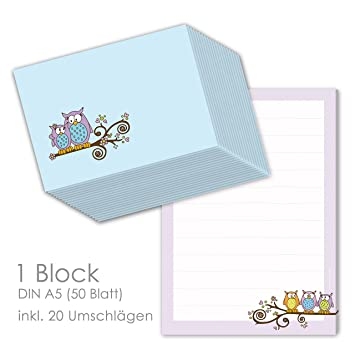 Juego de papel para niños Cartas bloque
