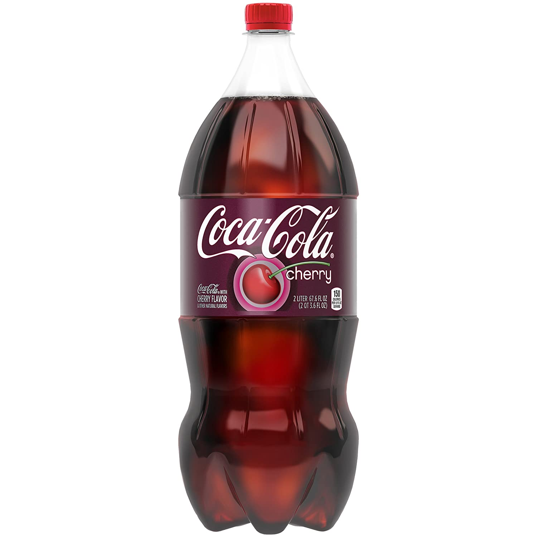 Amazon Com Coca Cola Cherry 2 Liter Bottle Grocery Gourmet Food