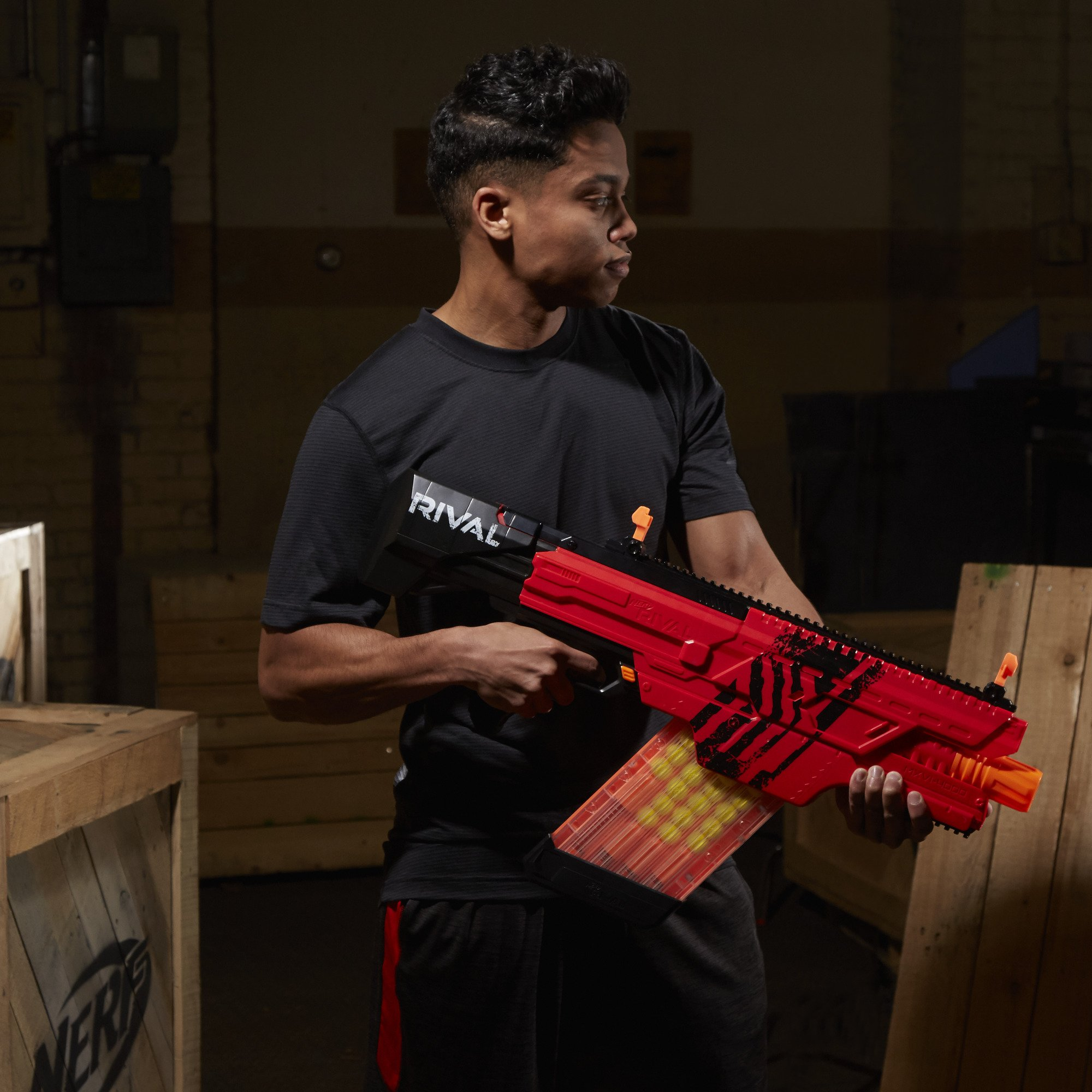 Nerf Rival Khaos MXVI-4000 Blaster (Red) by NERF (Image #18)