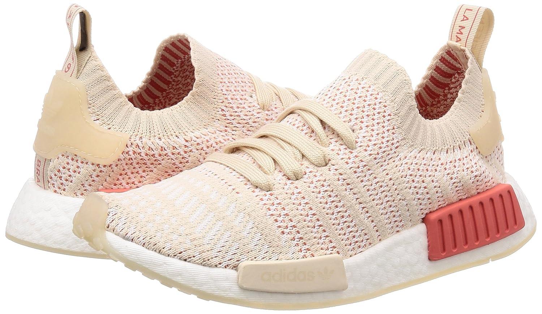 Adidas Damen NMD_r1 Stlt Beige Primeknit Sneaker Beige Stlt (Linen/Crystal/0) a30a67