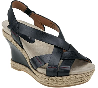 96f08638d20e Earthies Women s Salerno Wedge Sandals