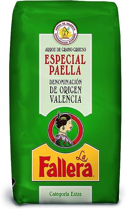 La Fallera Arroz Especial para Paella de Origen Valencia 1 Kg: Amazon.es: Alimentación y bebidas