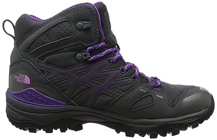 The North Face Damen Hedgehog Fastpack Mid Gore-Tex (Eu) Trekking-& Wanderstiefel, Grau (Dunkler Schatten Grau/Violetter Tüll), 40 EU