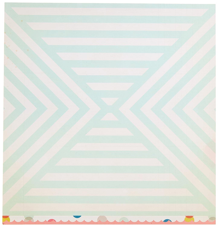 American Crafts 25 Blatt sun-n-fun am Pool doppelseitig Karton, 30,5 x 30,5 cm B00Y2JF77G | Professionelles Design