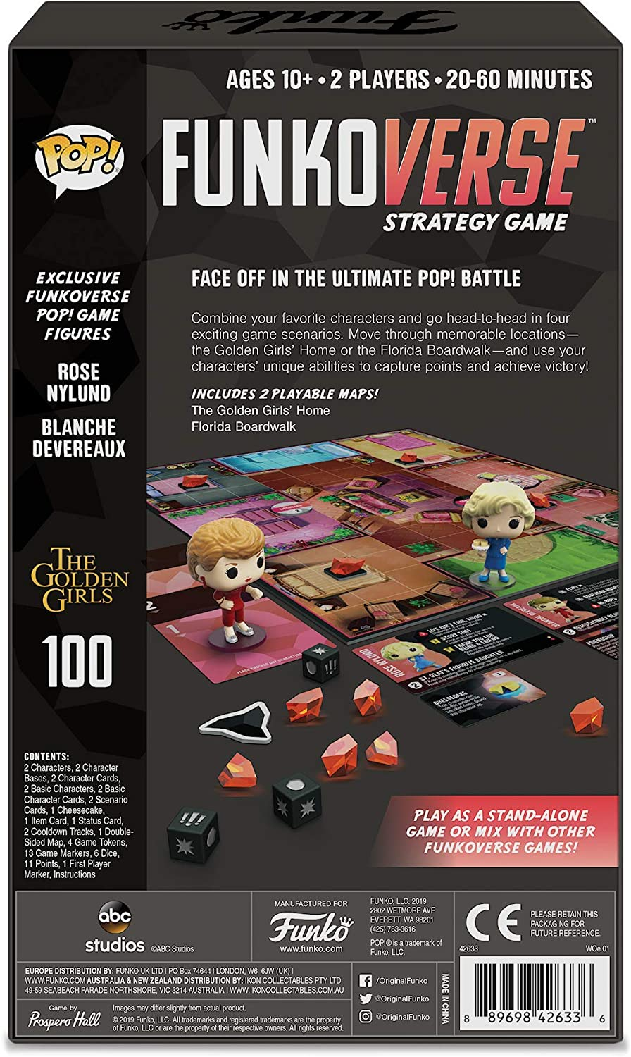 Pop Funkoverse Strategy Board Game The Golden Girls New