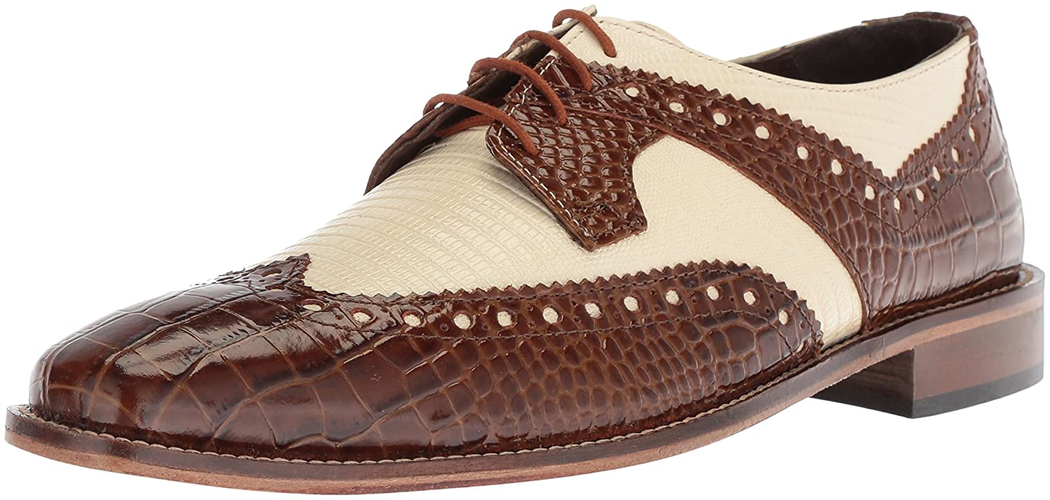 1b489a0ba6b STACY ADAMS Men's Gusto Wingtip Lace-Up Oxford