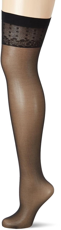 20 DEN Fiore Womenss Isis//Sensual Suspender Stockings