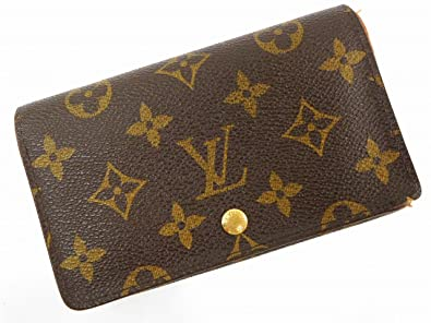[ルイヴィトン] LOUIS VUITTON 二つ折り財布 モノグラム M61735 モノグラムキャンバス X15663 中古
