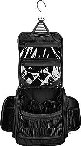Giveaway: Medium Size Hanging Toiletry Bag with Detachable TSA Compliant…