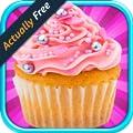 Cupcakes Valentine's Day: Kids Cupcake Baking & Cooking Games FREE