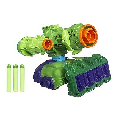 Marvel Avengers: Infinity War Nerf Hulk Assembler Gear: Toys & Games
