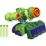 Lançador De Dardo Nerf Marvel Vingadores Guerra Infinita - Tecnologia Assembler Gear - Hulk - Hasbro