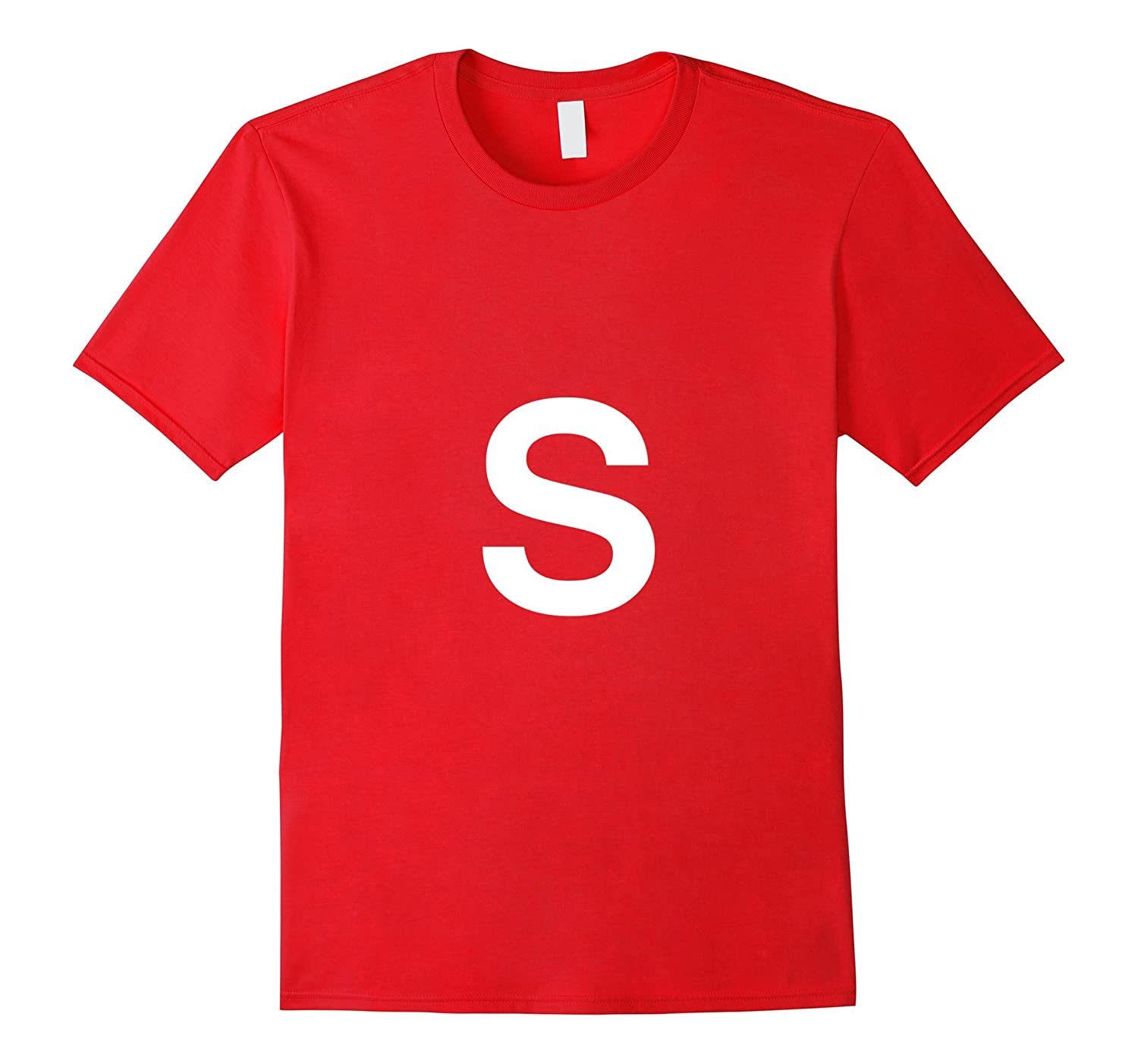 S Candy simple costume t-shirt-FL