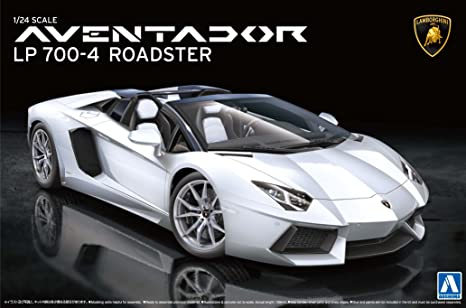 Beau 1/24 Super Car Series No.12 Lamborghini Aventador Lp700 4 Roadster