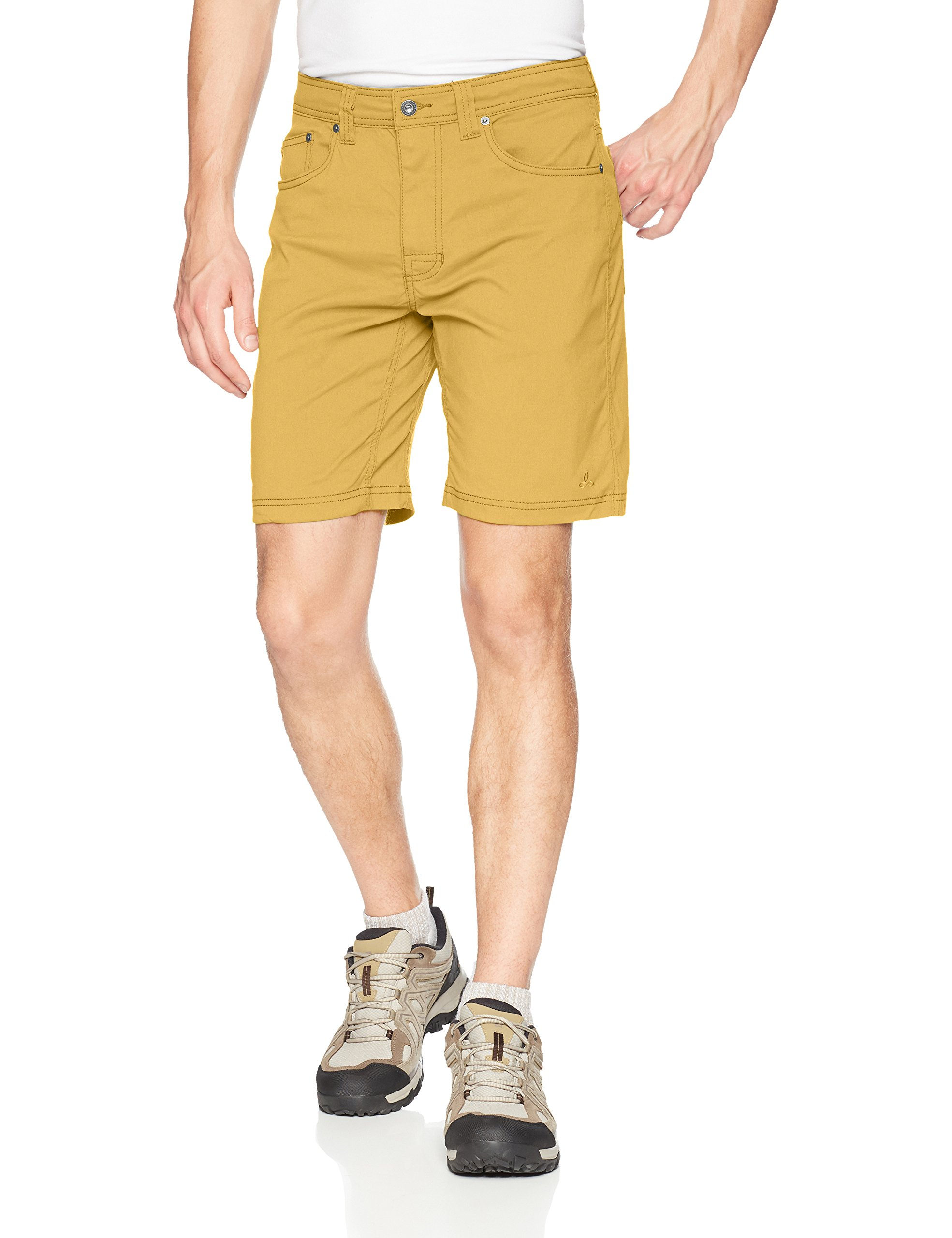 prAna Men's Brion Shorts, Sandpiper, 28W 9L