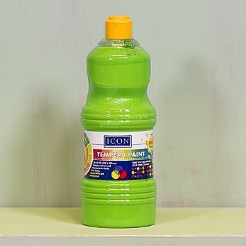 1 botella de gran Póster de pintura para niños no tóxico Tempera agua Color arte,
