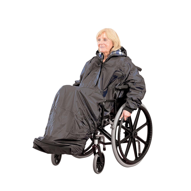 Homecraft - Chubasquero con mangas para silla de ruedas: Amazon.es: Salud y cuidado personal