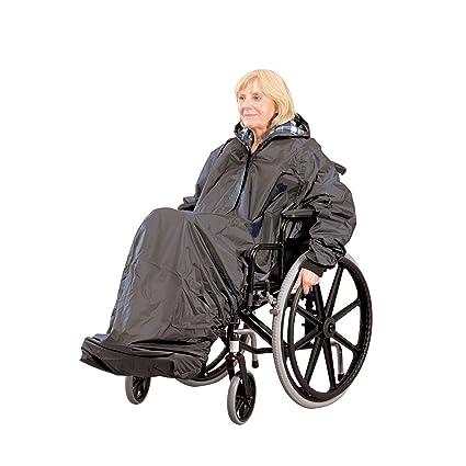 Homecraft - Chubasquero con mangas para silla de ruedas