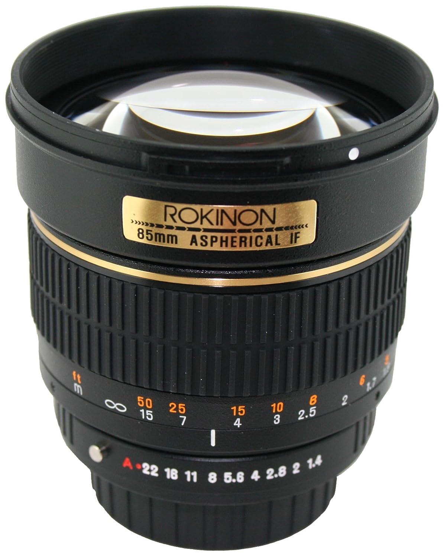 Rokinon 85mm f/1.4 Aspherical Lens for Olympus 4/3 【並行輸入】   B003NYT7TA