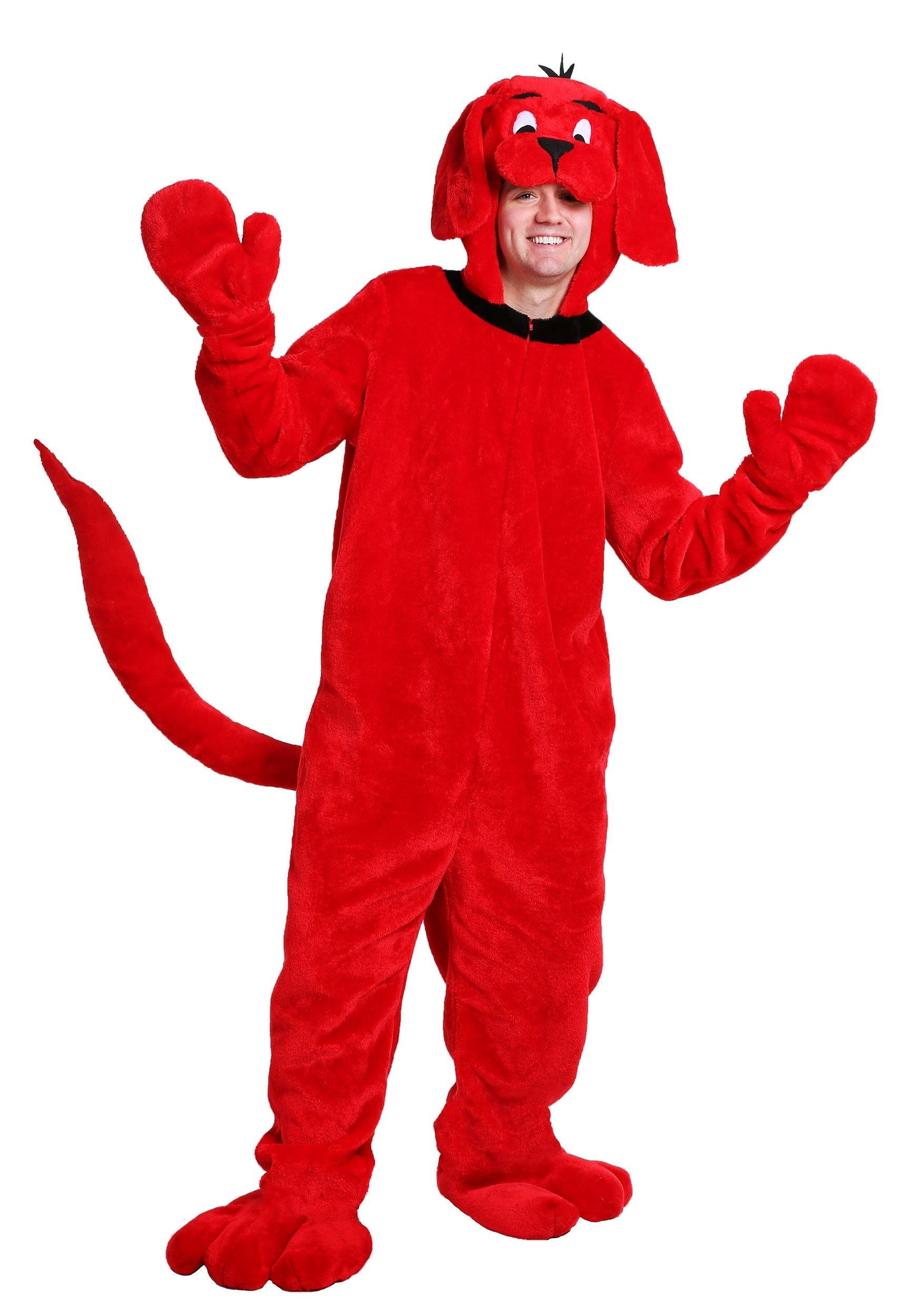 Clifford The Big Red Dog Adult Costume Standard