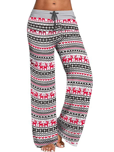 Amazon.com: Jingcheng, pantalones de pierna anchos para ...