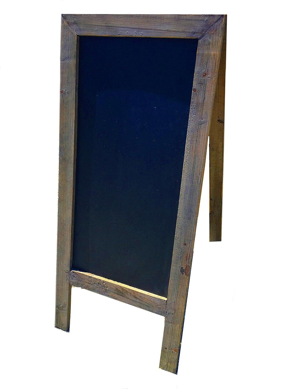Vintage estilo libre de pie marco de madera caballete ...