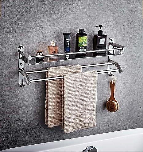 YXWzwj A Baldas de baño Toallero de Acero Inoxidable 304 ...