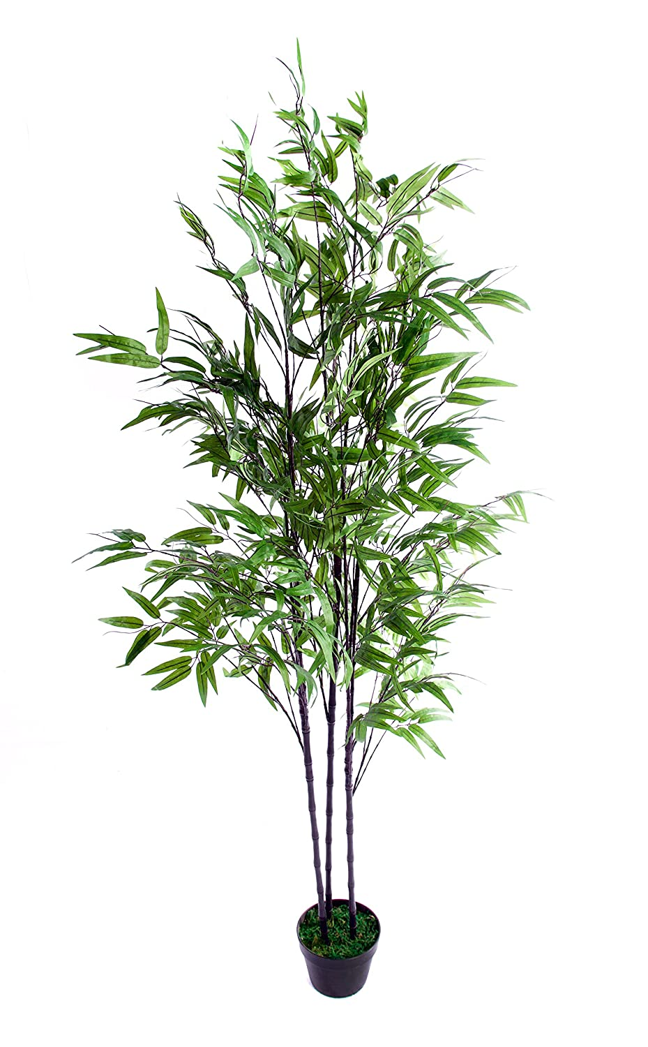 Best Artificial 180cm 6ft Black Bamboo Tree